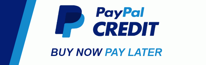 We now have PayPal Credit! Click to sign up now